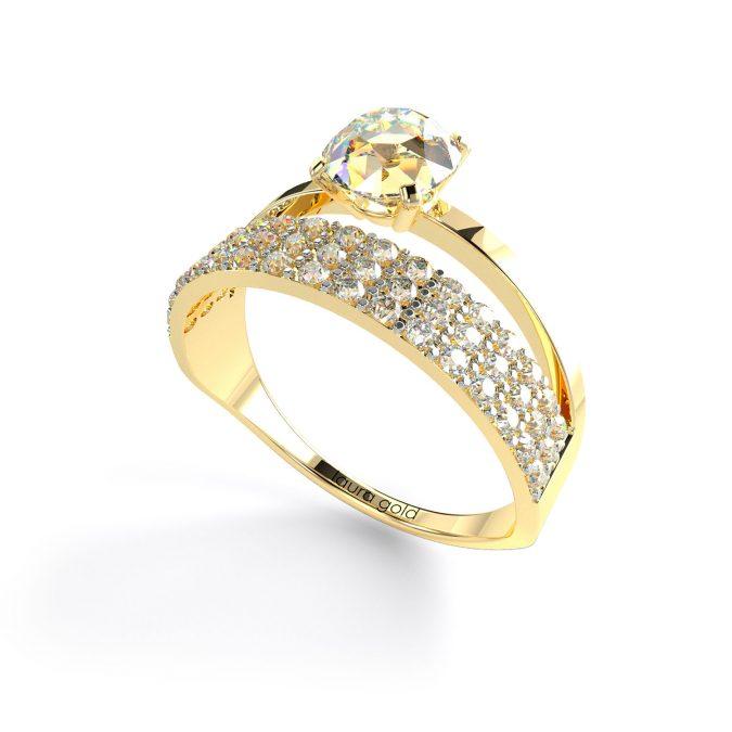zasnubny prsten, prstene laura gold